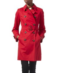 Weekend by Maxmara Trench Coat - Red