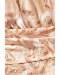 Aminaka Wilmont - Printed Silk Mini Dress - Lyst