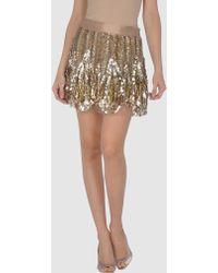 Amen Mini Skirt - Lyst