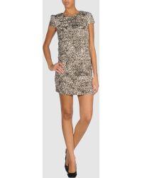 Vivienne Tam - Short Dress - Lyst