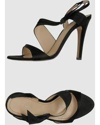 Pollini High-heeled Sandals - Lyst