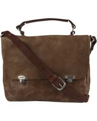 Ally Capellino - Rich Tan Miriam Leather Satchel Bag - Lyst