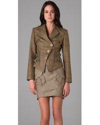 L.A.M.B. - British Plaid Jacket - Lyst