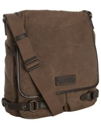 Marc New York - Waxed Cotton Rivington North-south Messenger Bag - Lyst