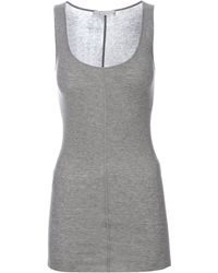 Duffy - Ribbed Vest Top - Lyst
