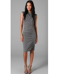 Jarbo - Pleated Dress - Lyst