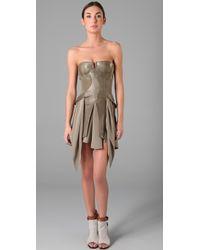 Jen Kao - Tzigane Bustier Dress - Lyst