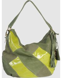 Miss Sixty Medium Leather Bag - Green