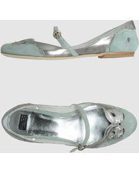 Mare Ballet Flats - Lyst