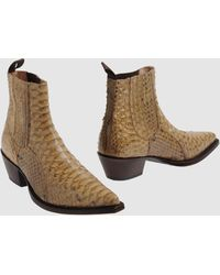 Tony Mora Ankle Boots - Natural