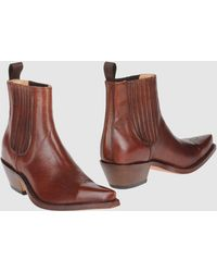 Tony Mora Ankle Boots - Brown