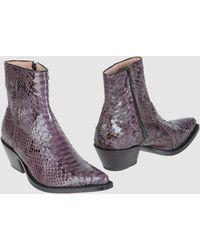 Tony Mora Ankle Boots - Multicolor
