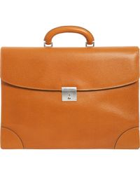 Valextra - Mens Two Gusset Briefcase - Lyst