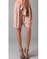 By Malene Birger | Short with Bow | Lyst