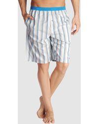 Calvin Klein Gray Pyjama - Lyst