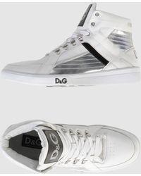 D&G High-top Sneaker - Lyst