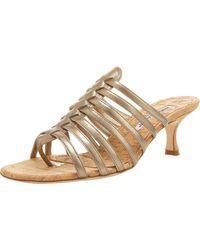 Manolo Blahnik Strappy Sandal - Lyst