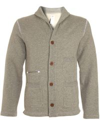 Garbstore Button Down Cardigan - Lyst