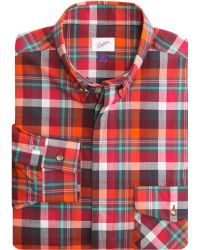 Garbstore Check Sport Shirt - Lyst