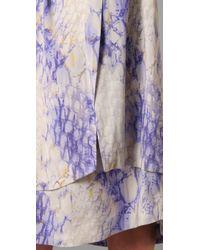 SUNO - Detached Panels Skirt - Lyst