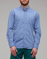 Life After Denim London Shirt in Chambray - Lyst