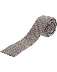 Club Monaco - Ticking Striped Tie - Lyst