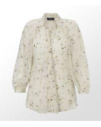 MAX&Co. - Mara Flower Print Shirt - Lyst