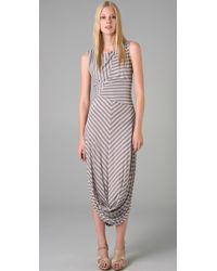 L.A.M.B. - Striped Dress - Lyst