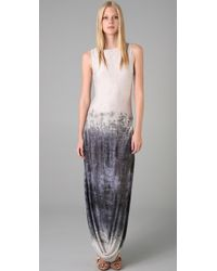 L.A.M.B. - Long Dress with Side Slits - Lyst