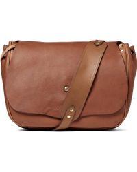 Bill Amberg - Full Grain Leather Messenger Bag - Lyst