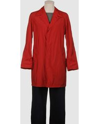 Aquascutum Red Full-length Jacket - Lyst