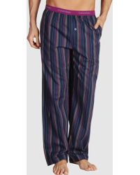 Calvin Klein Blue Pyjama - Lyst