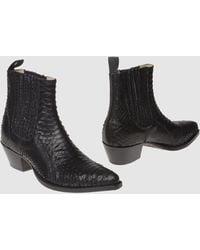 Tony Mora Ankle Boots - Black