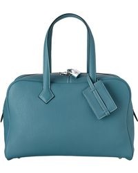 Hermès Victoria Ii blue - Lyst