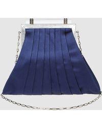 Rene Caovilla Medium Fabric Bag - Blue