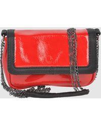 Via Repubblica Small Leather Bag - Lyst