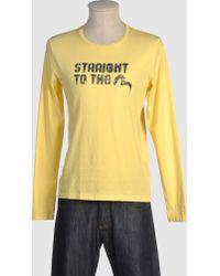 Evisu - Long Sleeve T-shirt - Lyst