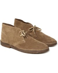 J.Crew Macalister Suede Desert Boots - Natural