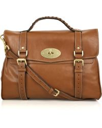 Mulberry - Oversized Alexa Leather Bag - Lyst