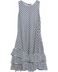 Rosamosario Portofino Jersey Dress - Blue