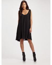 Ralph Lauren Blue Label - Abelina Chiffon Dress - Lyst