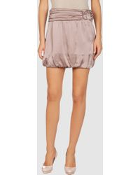Mauro Grifoni Mini Skirt - Lyst