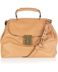 Chloé Elsie Leather Shoulder Bag - Lyst