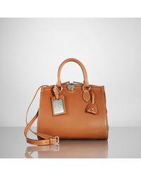 Ralph Lauren Collection Calfskin Nomad Bag - Brown