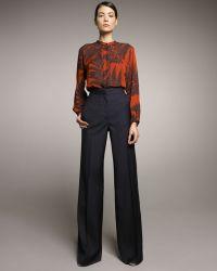 Stella McCartney High-waist Wide-leg Pants - Lyst
