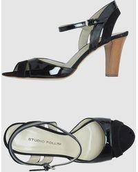 Studio Pollini High-heeled Sandals - Lyst