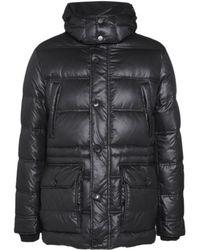 Dolce & Gabbana Feather Puffer Jacket - Black