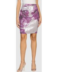 Rachel Roy Mini Skirt - Lyst