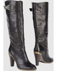 Tommy Hilfiger Denim High-heeled Boots - Lyst