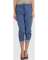 C P Company 34length Pants - Blue